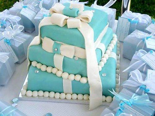 18 Best Wedding Cake Images On Pinterest Cake Wedding Petit - Small Blue Wedding Cakes