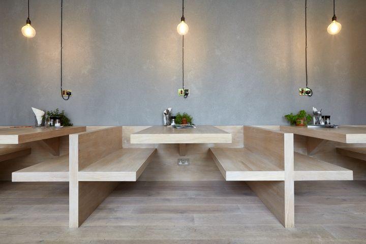 Rude Health Café by NOW, London – UK » Retail Design Blog                                                                                                                                                                                 More