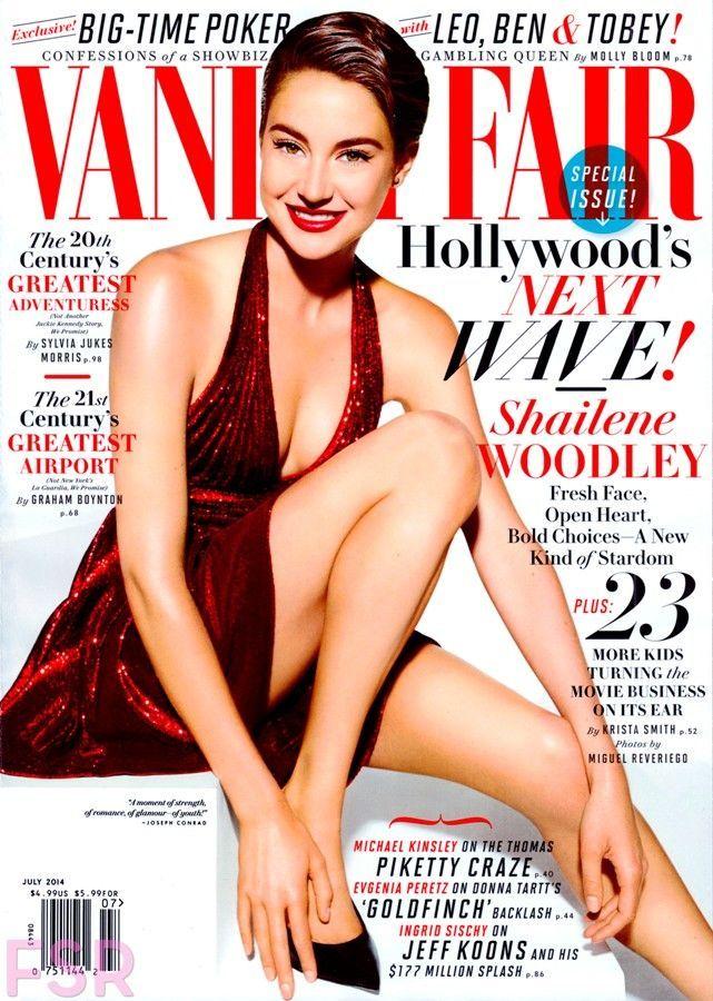 Shailene Woodley - Vanity Fair Magazine Cover [United States] (July 2014)