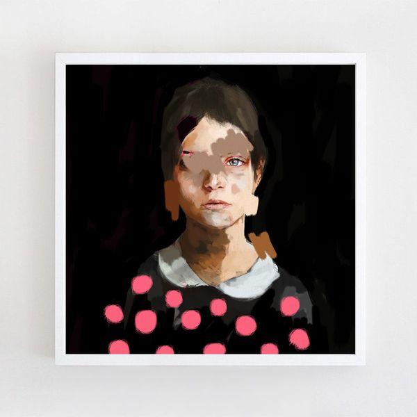 Bilder auf Leinwand I 90x90 cm von KRZANOO ART auf DaWanda.com