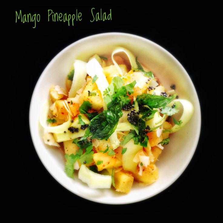 Mango and Pineapple Salad