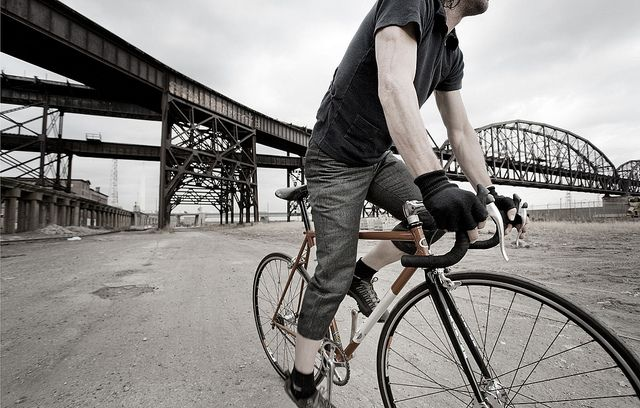 Urban Cyclist by Brian Cummings Photography, via Flickr