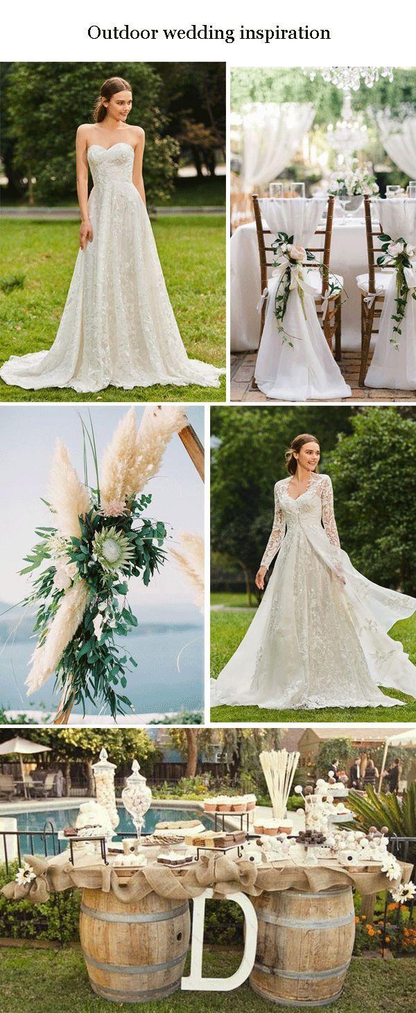 $ 221.47 Dresswe.com SUPPLIES Strapless Lace V-neck Wedding Dress with Long Sleeve Jacket