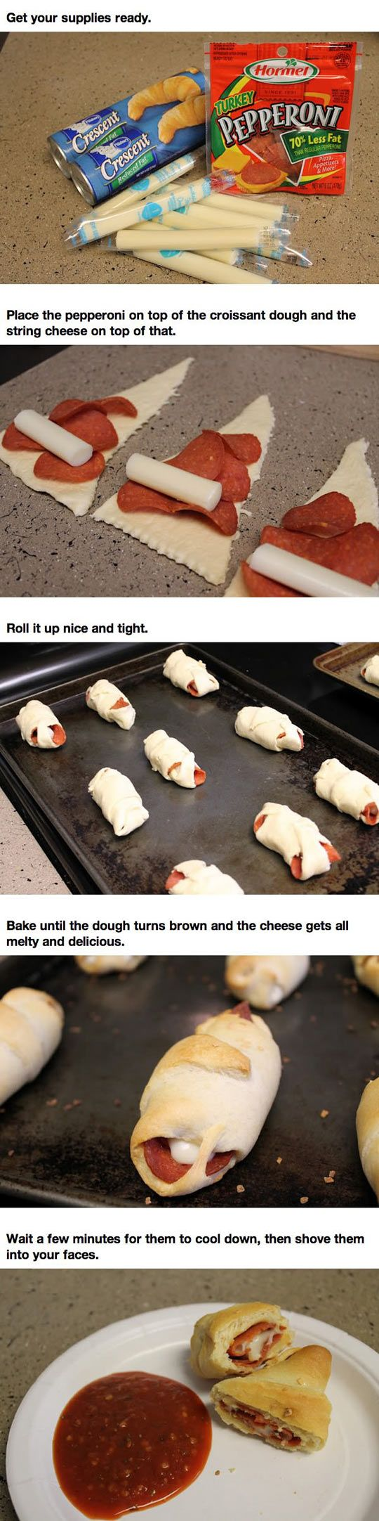 This Is How You Can Make Homemade Pizza Rolls
