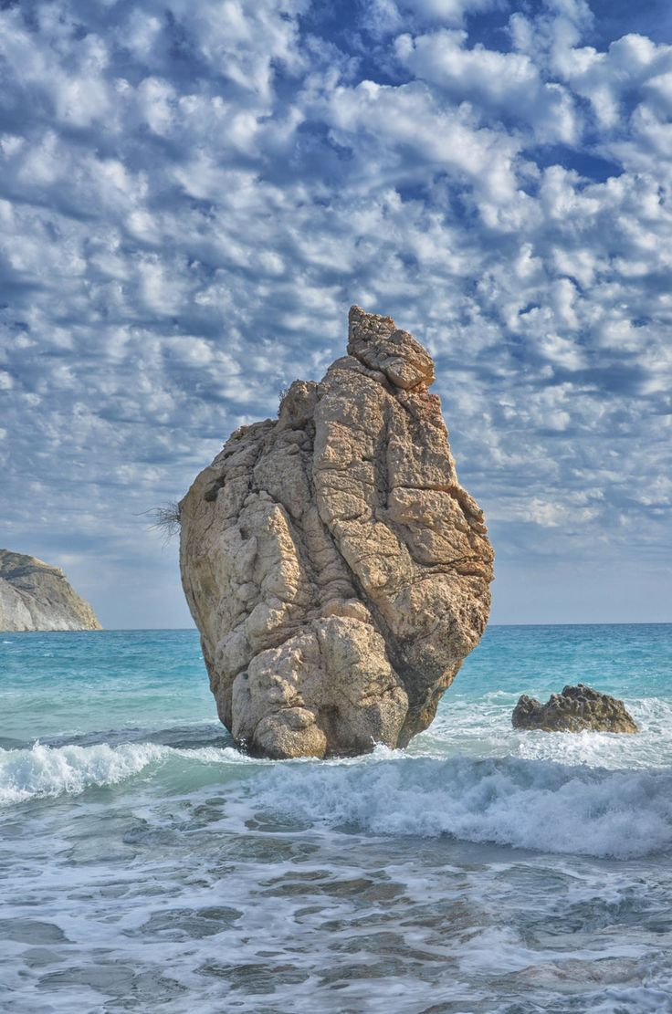 Aphrodites Rock2 by Kami-no-kuroi-namida // Aphrodites rock in Cyprus