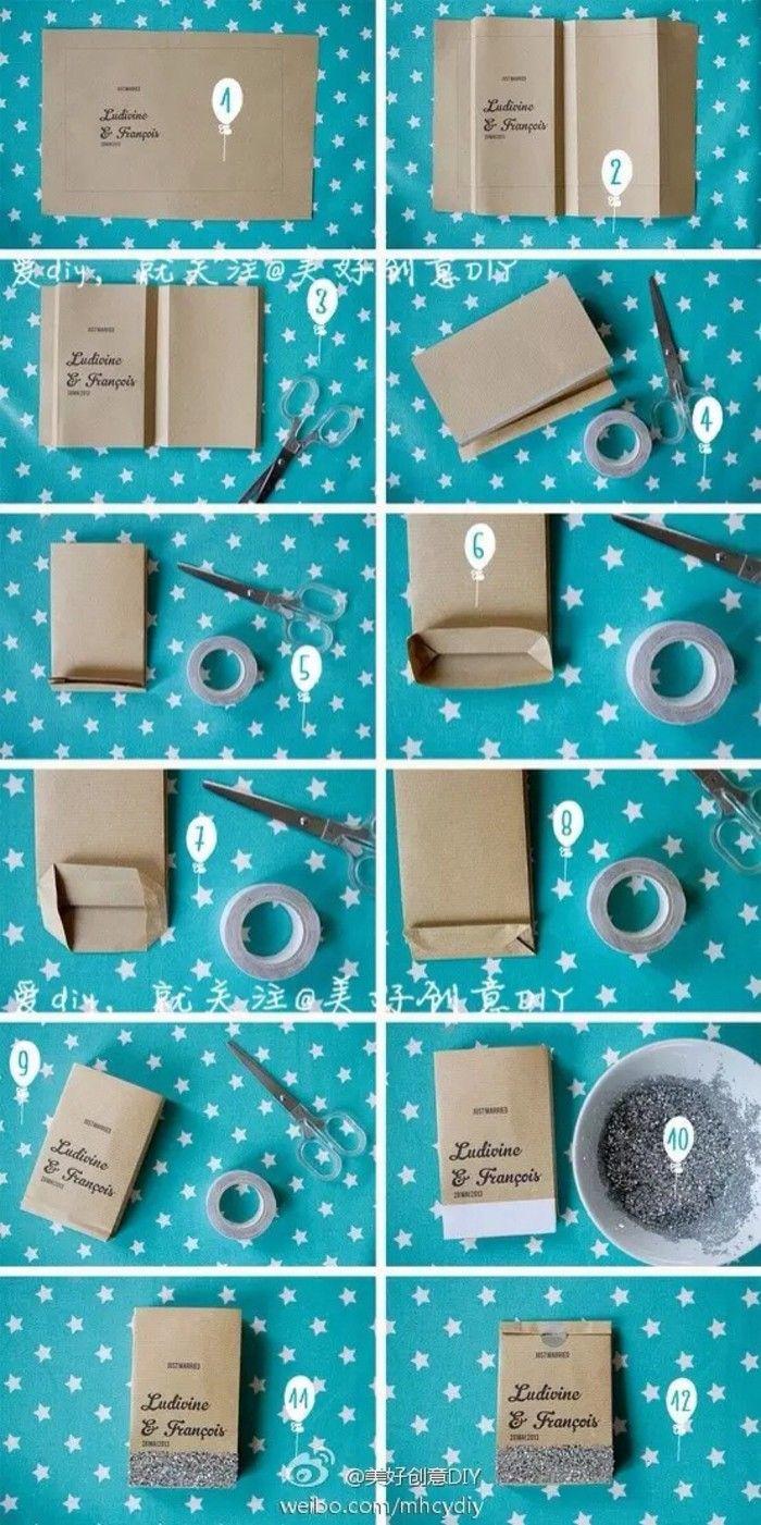 折纸 手工 DIY - 礼品袋