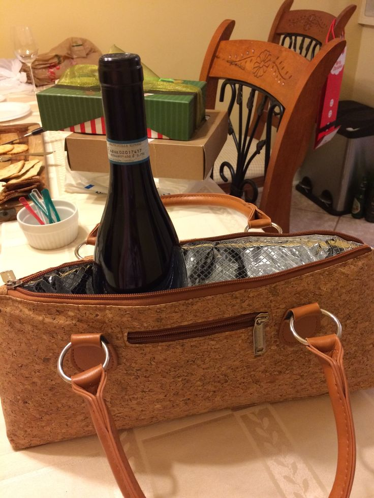 "Portable ""wine"" purse!! Absolutely perfect!! #WinePurse"