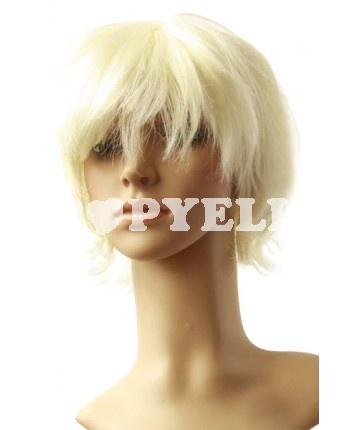 #perruque #courte Perruque femme de Pale Gold perruque courte