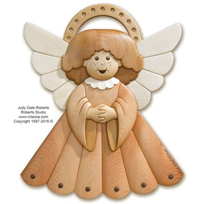 Little Angel Intarsia Pattern