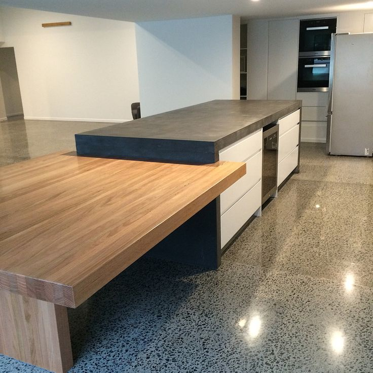 1000+ Ideas About Polished Concrete Kitchen On Pinterest