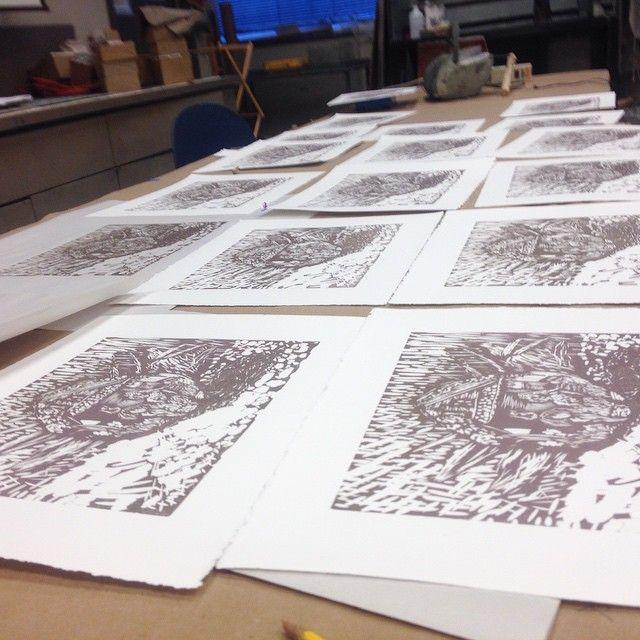 #printmaking #sb2k15 #pulledsmmm #eggs