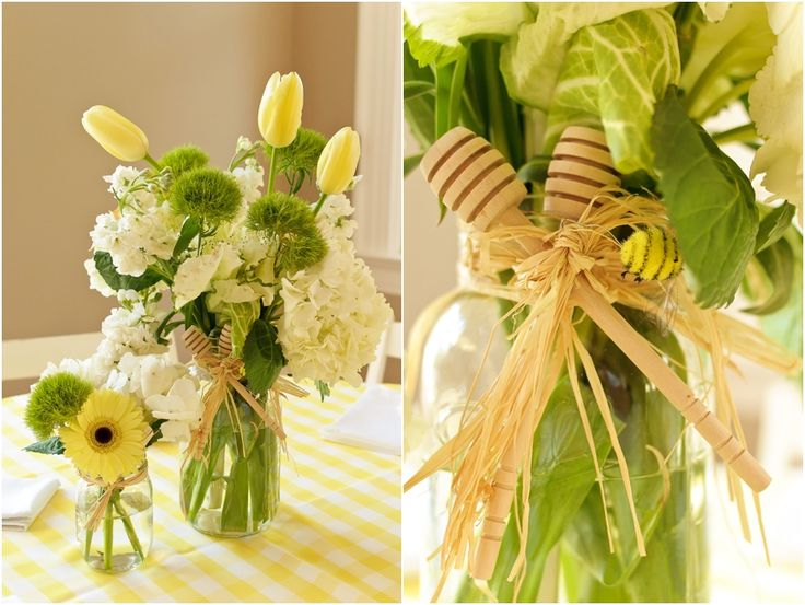 bee theme baby shower   Mommy-to-be Brittany Rustic White Photography   Atlanta Based Wedding ...