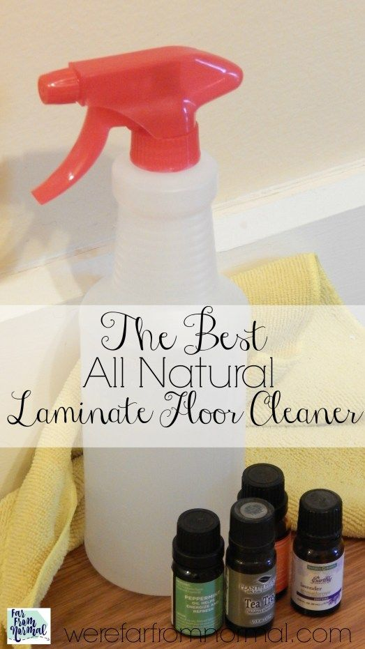 The Best All Natural Laminate Floor Cleaner – Far From Normal