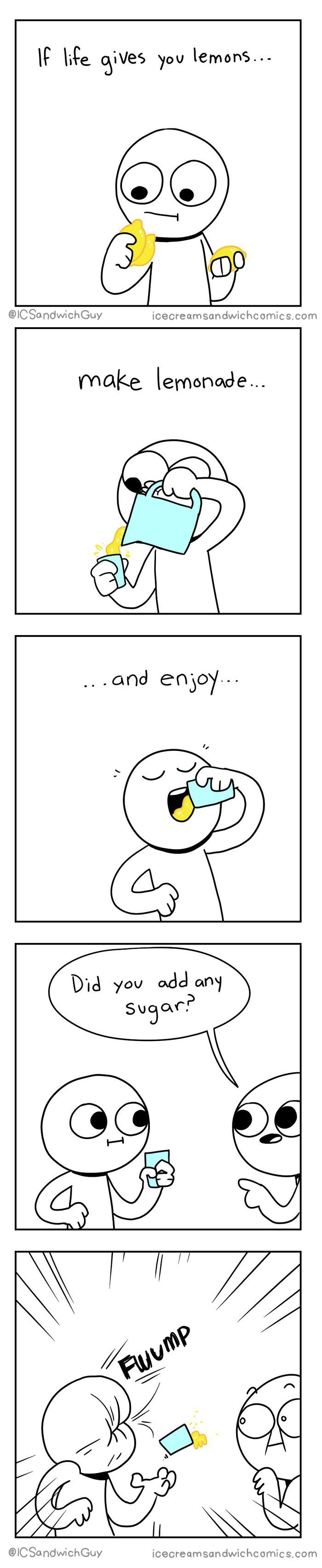 "10+ Hilarious Comics By ""Ice Cream Sandwich"""
