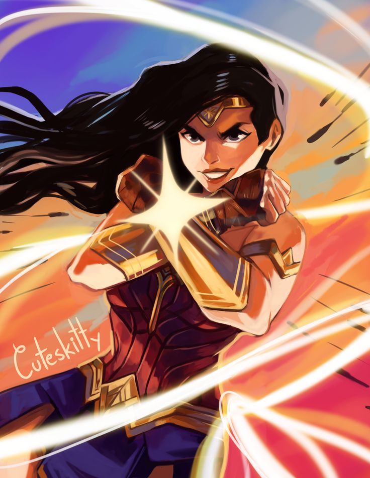 Wonder Woman By Cuteskitty