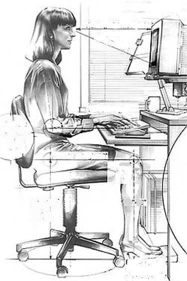 Bilgisayarda Çalışırken Sağlığınızdan Olmayın ! - Sağlık - KizlarSoruyor.com