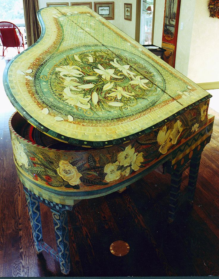 177 Best The Painted Piano Images On Pinterest Painted