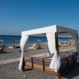 super comfy day beds @ LV Beach | South Rhodes Greece