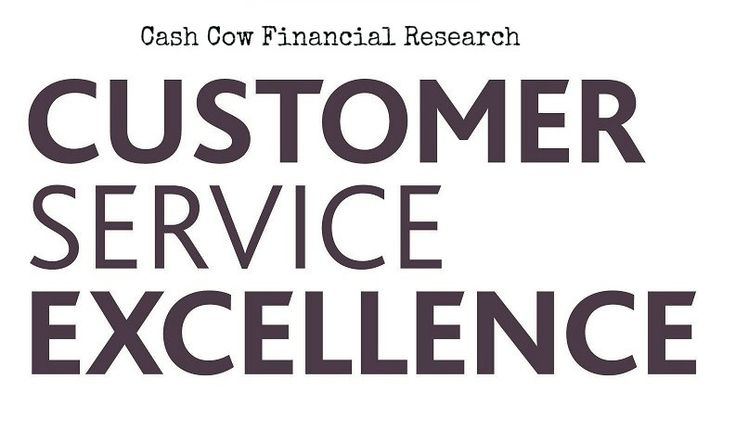 We at Cash Cow want our Customers to Experience an Excellence... For more information visit our website@ http://www.cashcowresearch.com