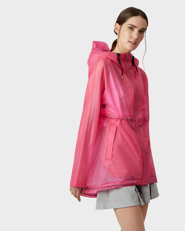 A soft,  lightweight and completely waterproof jacket.
