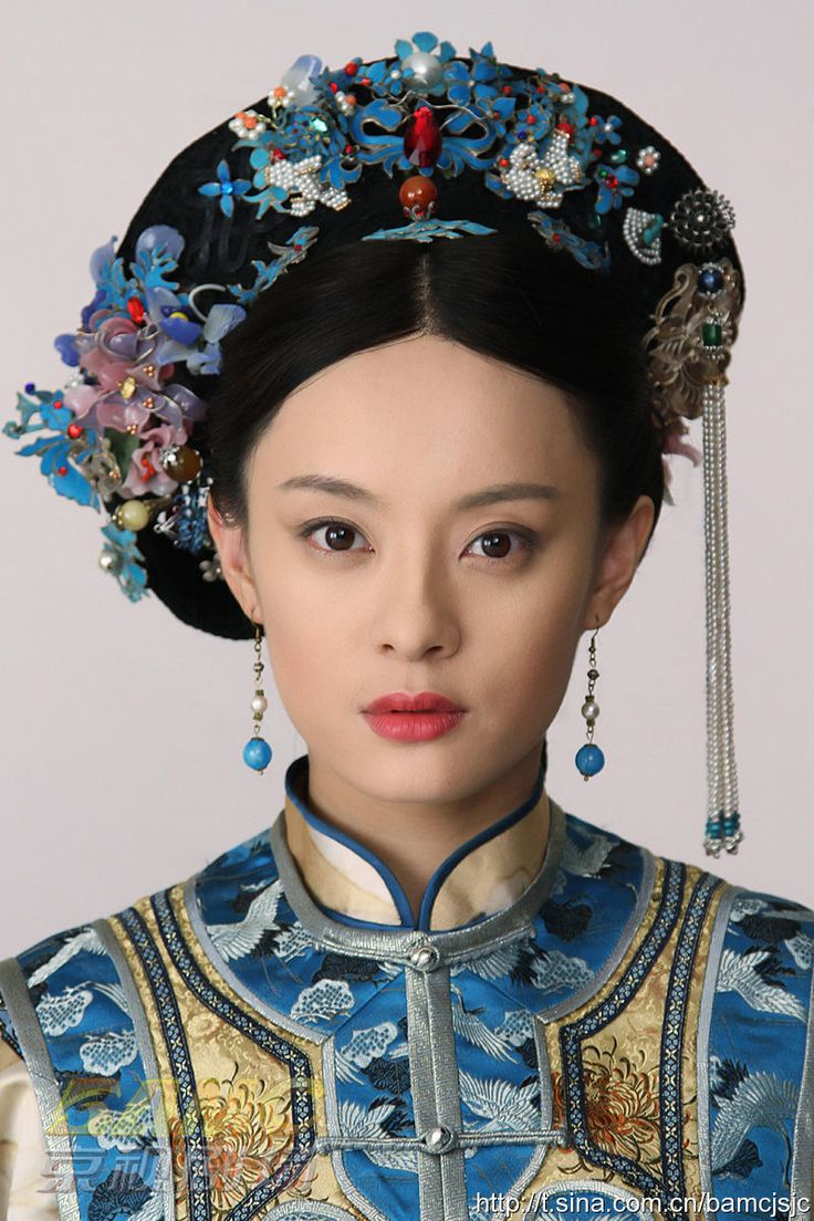 imperial concubine of Qing dynasty,China                                                                                                                                                                                 More