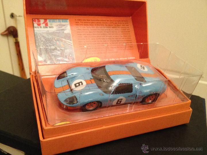 ford gt40 gulf le mans 1969 ickx olivier de slot - La Table D Elise Le Mans