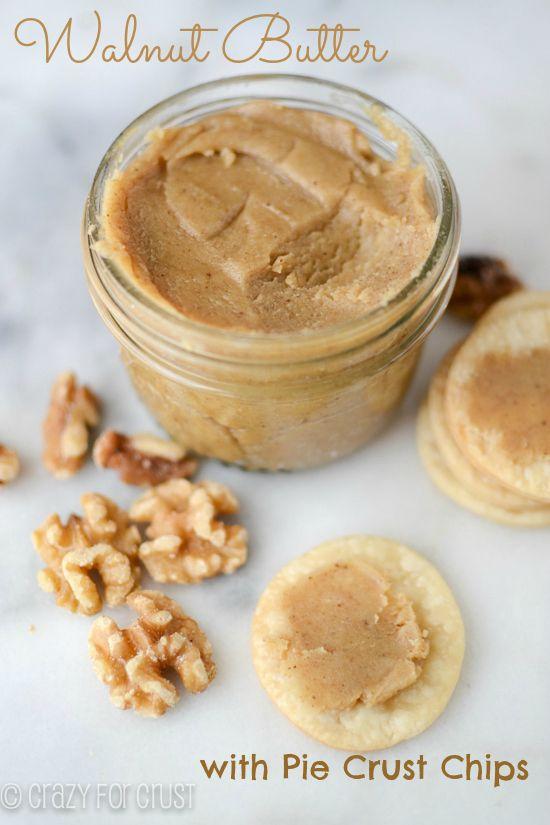 """Homemade Maple Walnut Butter  - vlašákové """"máslo"""" s javorovým sirupem"""