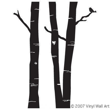 Vinyl Wall Art - Forest
