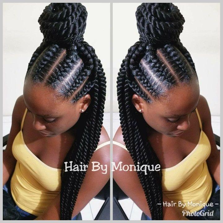 Stitch Braids And Rope Twists Rope Twist Braids Hair Styles