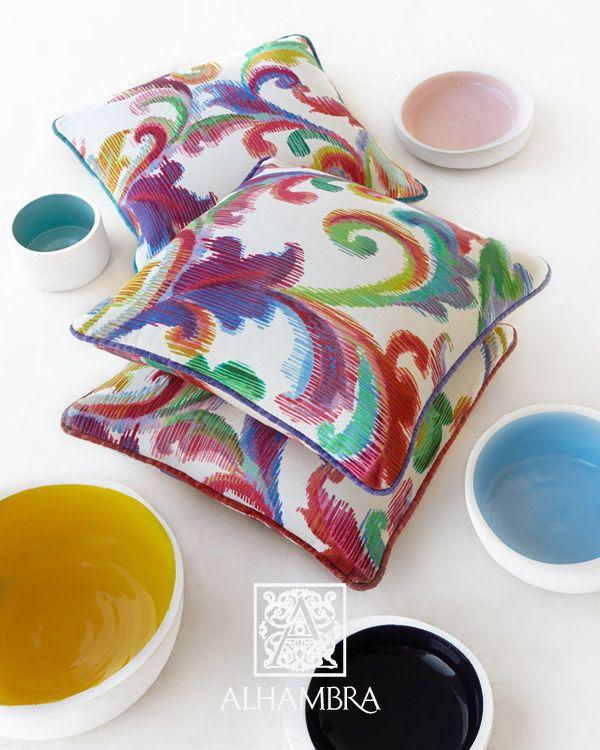 SPICY COLLECTION - poduszki, kolorowe poduszki. http://www.mkstudio.waw.pl/dekoracje/tkaniny-obiciowe/