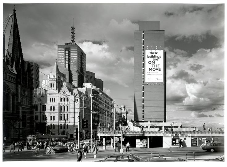 Detail - , Ian Harrison Hill   [Gas and Fuel Corporation of Victoria, 171 Flinders Street, Melbourne during demolition]  Photographs from series taken in 1996  [1996]