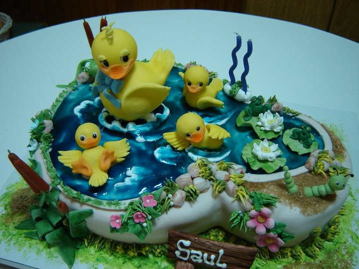 Swimming Cake Images