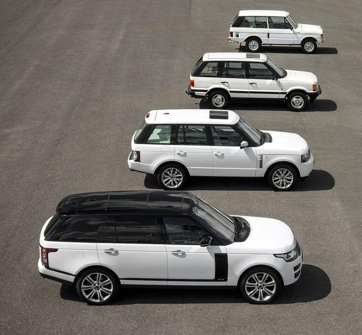 Range Rover célèbre 45 ans de luxe, de design et d'innovation - via Jaguar Land Rover Fréjus www.jaguarlandrover-cotedazur.com