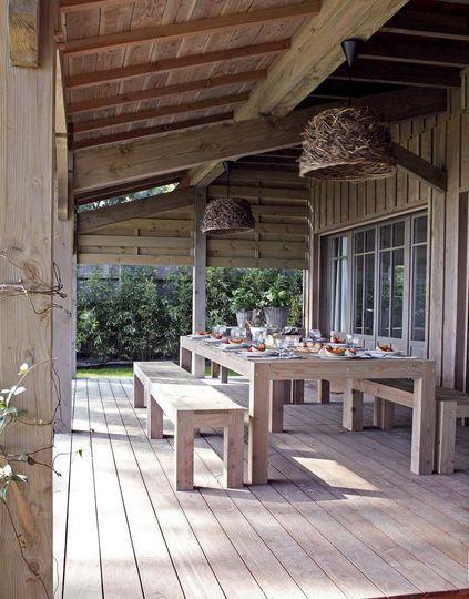 1000 id es sur le th me auvent bois sur pinterest auvent. Black Bedroom Furniture Sets. Home Design Ideas