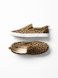 Animal Print sneakers @ Gap