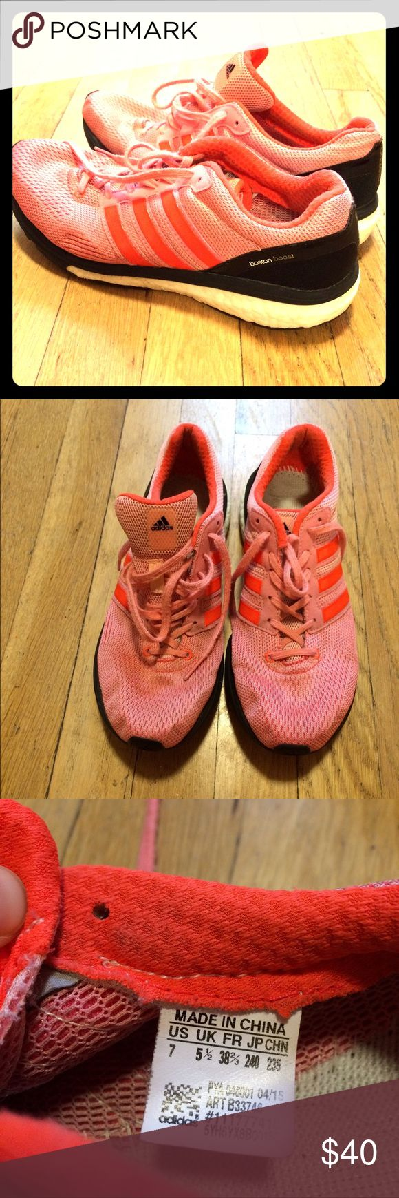 Adidas Boost Running Shoes Adidas Boost Running Shoes. Used. Good condition. Adidas Shoes Athletic Shoes
