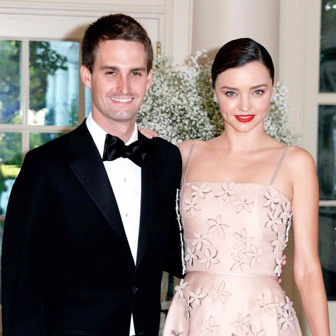 Australian Supermodel, Miranda Kerr & Snapchat Founder, Evan Spiegel's Proposal