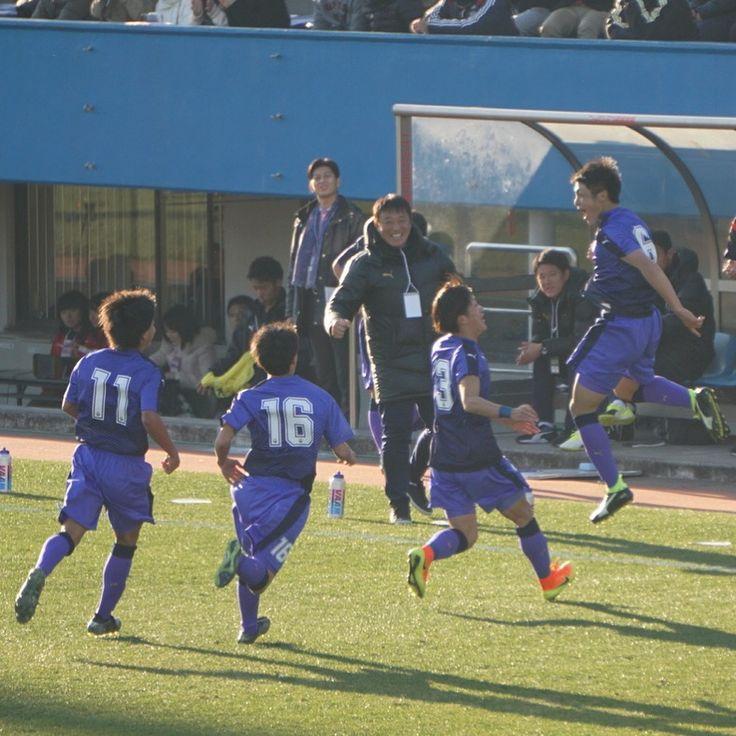 高校サッカー2017 富山第一の歓喜