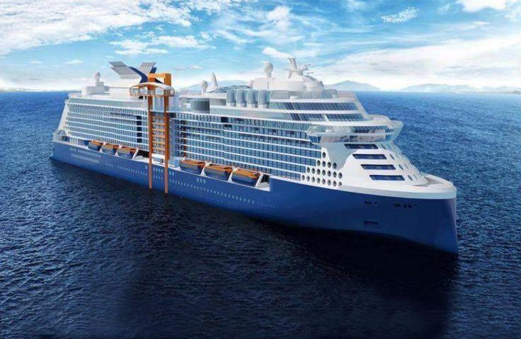 Même s'il conviendra de vérifier qu'il s'agit bien du design final, en particulier au niveau de l'étrave, une première vue d'ensemble du nouveau paquebot de Celebrity Cruises circule amplement sur Internet depuis hier.