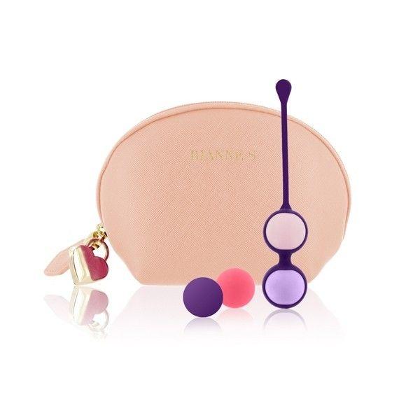 Progresywne kulki gejszy Rianne S - Pussy Playballs to zmysłowe kulki zaprojektowane przez założycielkę najbardziej kobiecych gadżetów erotycznych - Rianne S || #kulkigejszy #prezent #urodziny #dlaNiej #DzieńKobiet #trening #kobiece #inspiracje