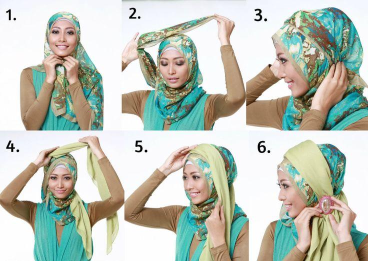 Model Hijab Terbaru Segi Empat