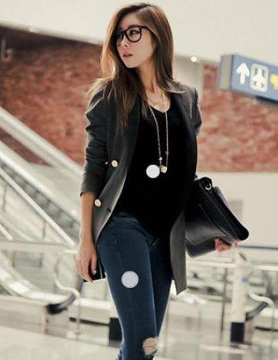 Grey Long Sleeve Blazer Price in Pakistan