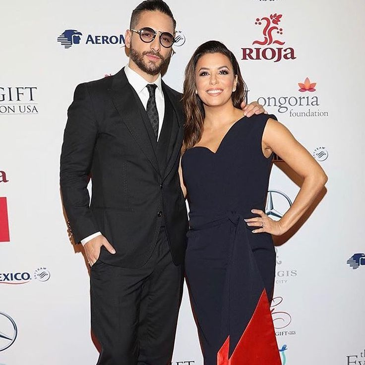 "We rise by lifting others. @evalongoria and @maluma in ""Stranger Than Paradise"" raising money for the earthquake victims in Mexico. #maluma #evalongoria #massada #massadaeyewear"
