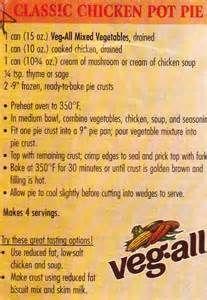 Chicken veg all casserole recipes