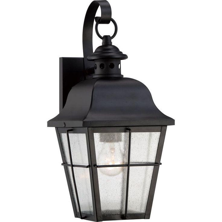 Quoizel Bedford Outdoor Pedestal Light Mystic Black: Best 25+ Outdoor Wall Sconce Ideas On Pinterest