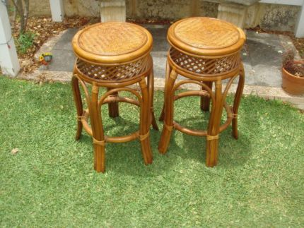 Cane stools chairs gumtree australia joondalup area for Outdoor furniture joondalup