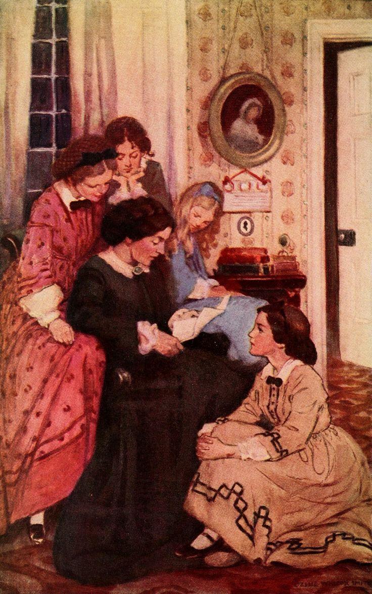 Little Women Book Illustrations | Illustration by Jessie ...