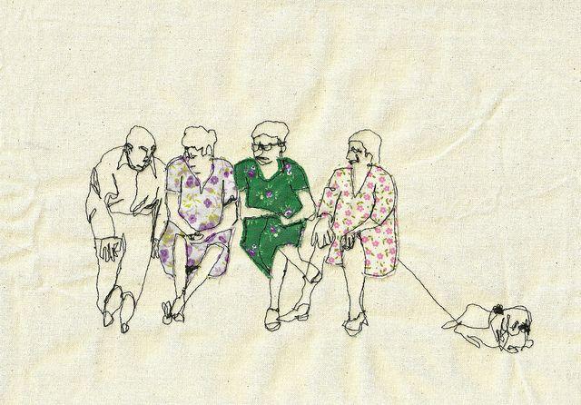 Sarah Walton embroidery onthebench   Flickr - Photo Sharing!