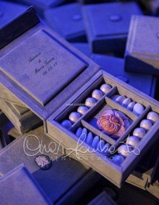 Cadeau de mariage prezioso e raffinato presentato con eleganza e classe. | Cira Lombardo Wedding Planner