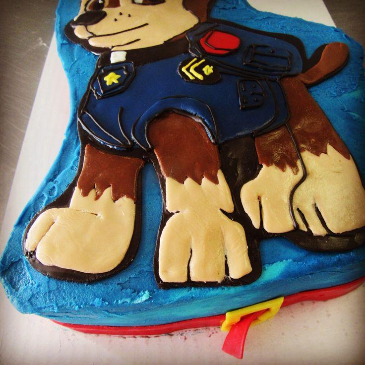 Paw patrol cake chase